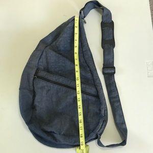 Ameribag Healthy Back Bag distressed blue/grey